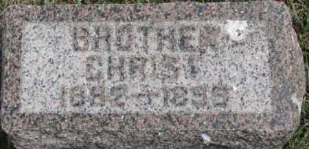 FUCHSER, CHRIST - Dixon County, Nebraska   CHRIST FUCHSER - Nebraska Gravestone Photos
