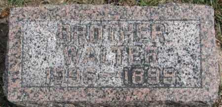 FUCHSER, WALTER - Dixon County, Nebraska | WALTER FUCHSER - Nebraska Gravestone Photos