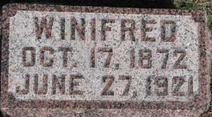 DAVIS FULLER, WINIFRED - Dixon County, Nebraska | WINIFRED DAVIS FULLER - Nebraska Gravestone Photos