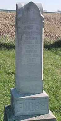 FUOSS, JOHN G. - Dixon County, Nebraska | JOHN G. FUOSS - Nebraska Gravestone Photos