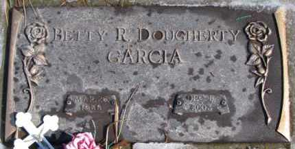 DOUGHERTY GARCIA, BETTY R. - Dixon County, Nebraska | BETTY R. DOUGHERTY GARCIA - Nebraska Gravestone Photos