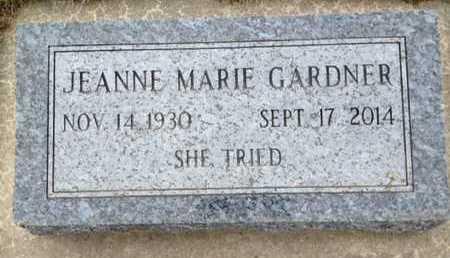 GARDNER, JEANNE MARIE - Dixon County, Nebraska   JEANNE MARIE GARDNER - Nebraska Gravestone Photos