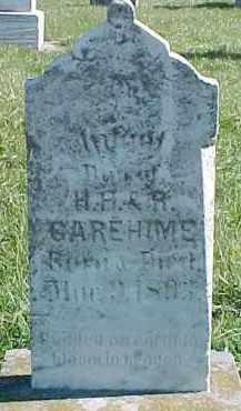 GAREHIME, INFANT - Dixon County, Nebraska | INFANT GAREHIME - Nebraska Gravestone Photos