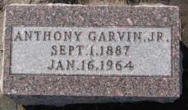 GARVIN, ANTHONY JR. - Dixon County, Nebraska | ANTHONY JR. GARVIN - Nebraska Gravestone Photos