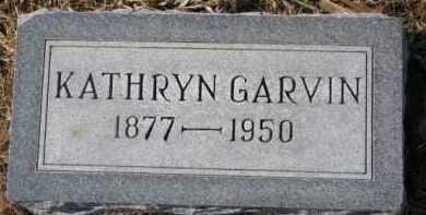 HARRINGTON GARVIN, KATHRYN - Dixon County, Nebraska   KATHRYN HARRINGTON GARVIN - Nebraska Gravestone Photos