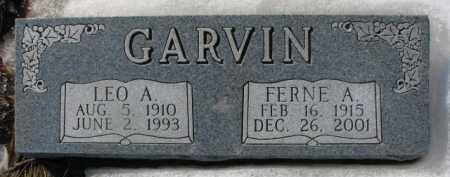GARVIN, FERNE A. - Dixon County, Nebraska | FERNE A. GARVIN - Nebraska Gravestone Photos