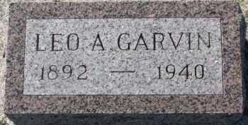 GARVIN, LEO A. - Dixon County, Nebraska   LEO A. GARVIN - Nebraska Gravestone Photos