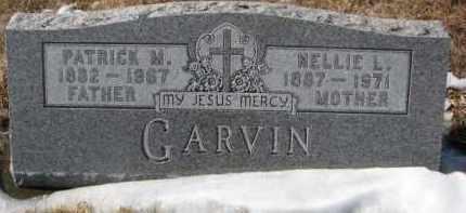 GARVIN, PATRICK M. - Dixon County, Nebraska | PATRICK M. GARVIN - Nebraska Gravestone Photos