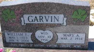 GARVIN, WILLIAM E. - Dixon County, Nebraska | WILLIAM E. GARVIN - Nebraska Gravestone Photos