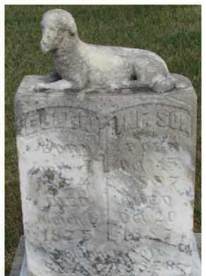 GASSER, INFANT SON - Dixon County, Nebraska | INFANT SON GASSER - Nebraska Gravestone Photos