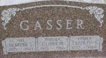 GASSER, VERNON S. - Dixon County, Nebraska | VERNON S. GASSER - Nebraska Gravestone Photos