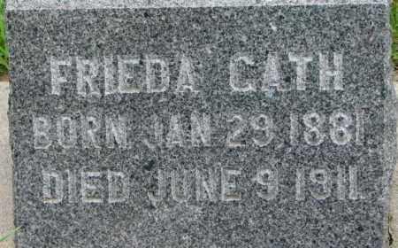 GATH, FRIEDA - Dixon County, Nebraska | FRIEDA GATH - Nebraska Gravestone Photos