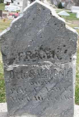 GEILER, FRANK - Dixon County, Nebraska | FRANK GEILER - Nebraska Gravestone Photos