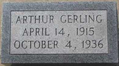 GERLING, ARTHUR - Dixon County, Nebraska | ARTHUR GERLING - Nebraska Gravestone Photos