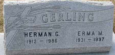 GERLING, HERMAN G. - Dixon County, Nebraska | HERMAN G. GERLING - Nebraska Gravestone Photos