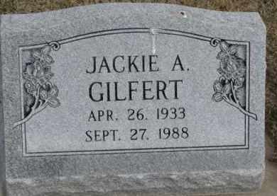 GILFERT, JACKIE A, - Dixon County, Nebraska | JACKIE A, GILFERT - Nebraska Gravestone Photos