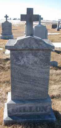 GILLLON, JOHN - Dixon County, Nebraska | JOHN GILLLON - Nebraska Gravestone Photos