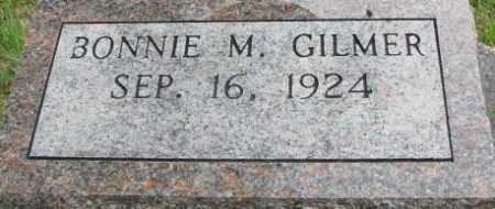 GILMER, BONNIE M. - Dixon County, Nebraska | BONNIE M. GILMER - Nebraska Gravestone Photos