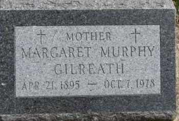 MURPHY GILREATH, MARGARET - Dixon County, Nebraska | MARGARET MURPHY GILREATH - Nebraska Gravestone Photos