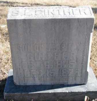 GINTHER, S.L. - Dixon County, Nebraska | S.L. GINTHER - Nebraska Gravestone Photos