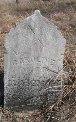 GLASSMANN, CAROLINE - Dixon County, Nebraska | CAROLINE GLASSMANN - Nebraska Gravestone Photos