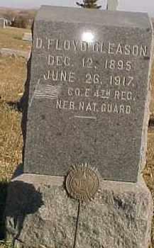 GLEASON, D. FLOYD - Dixon County, Nebraska | D. FLOYD GLEASON - Nebraska Gravestone Photos