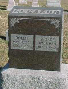 GLEASON, DOLLIE - Dixon County, Nebraska   DOLLIE GLEASON - Nebraska Gravestone Photos