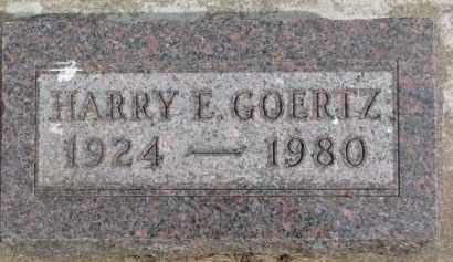 GOERTZ, HARRY E. - Dixon County, Nebraska | HARRY E. GOERTZ - Nebraska Gravestone Photos