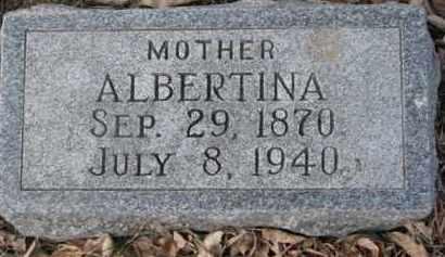 KAMPE GOLDBERG, ALBERTINA - Dixon County, Nebraska | ALBERTINA KAMPE GOLDBERG - Nebraska Gravestone Photos