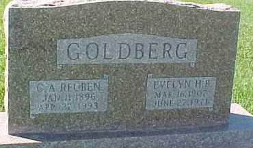 GOLDBERG, G.A. REUBEN - Dixon County, Nebraska | G.A. REUBEN GOLDBERG - Nebraska Gravestone Photos