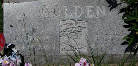GOLDEN, L. SUSAN - Dixon County, Nebraska | L. SUSAN GOLDEN - Nebraska Gravestone Photos