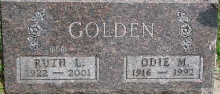 GOLDEN, ODIE M. - Dixon County, Nebraska | ODIE M. GOLDEN - Nebraska Gravestone Photos