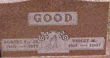 GOOD, VIOLET M. - Dixon County, Nebraska | VIOLET M. GOOD - Nebraska Gravestone Photos