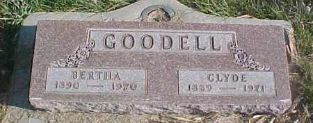 GOODELL, BERTHA - Dixon County, Nebraska | BERTHA GOODELL - Nebraska Gravestone Photos