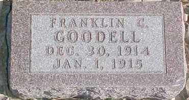 GOODELL, FRANKLIN C. - Dixon County, Nebraska | FRANKLIN C. GOODELL - Nebraska Gravestone Photos