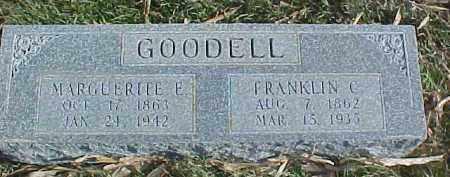 GOODELL, MARGUERITE E. - Dixon County, Nebraska | MARGUERITE E. GOODELL - Nebraska Gravestone Photos