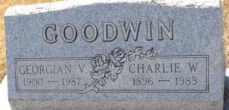 GOODWIN, CHARLIE W. - Dixon County, Nebraska   CHARLIE W. GOODWIN - Nebraska Gravestone Photos