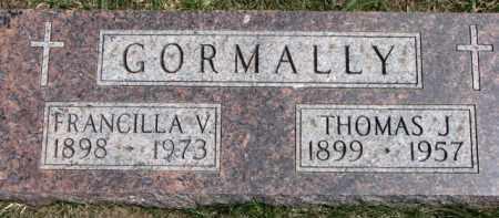 GORMALLY, THOMAS J. - Dixon County, Nebraska | THOMAS J. GORMALLY - Nebraska Gravestone Photos