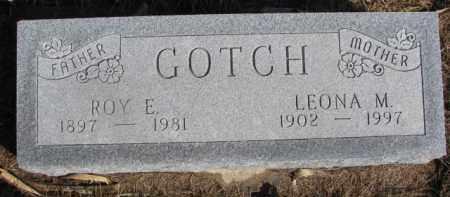 GOTCH, LEONA M. - Dixon County, Nebraska | LEONA M. GOTCH - Nebraska Gravestone Photos