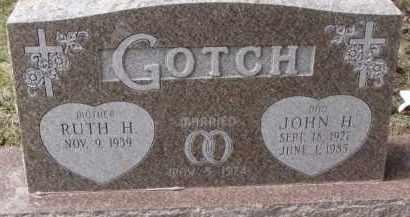 GOTCH, JOHN H. - Dixon County, Nebraska | JOHN H. GOTCH - Nebraska Gravestone Photos