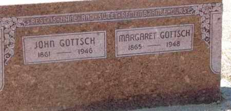 GOTTSCH, MARGARET - Dixon County, Nebraska | MARGARET GOTTSCH - Nebraska Gravestone Photos