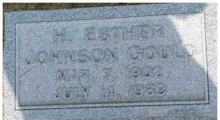 GOULD, H. ESTHER - Dixon County, Nebraska | H. ESTHER GOULD - Nebraska Gravestone Photos