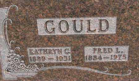 GOULD, KATHRYN C. - Dixon County, Nebraska   KATHRYN C. GOULD - Nebraska Gravestone Photos