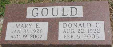 GOULD, MARY E. - Dixon County, Nebraska   MARY E. GOULD - Nebraska Gravestone Photos