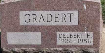 GRADERT, DELBERT H. - Dixon County, Nebraska | DELBERT H. GRADERT - Nebraska Gravestone Photos