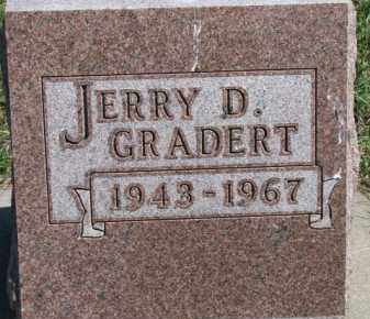 GRADERT, JERRY D. - Dixon County, Nebraska | JERRY D. GRADERT - Nebraska Gravestone Photos
