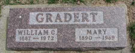 GRADERT, WILLIAM C. - Dixon County, Nebraska | WILLIAM C. GRADERT - Nebraska Gravestone Photos
