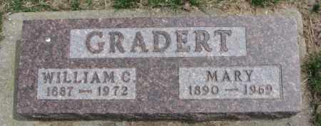 GRADERT, MARY - Dixon County, Nebraska | MARY GRADERT - Nebraska Gravestone Photos