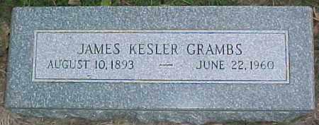 GRAMBS, JAMES KESLER - Dixon County, Nebraska | JAMES KESLER GRAMBS - Nebraska Gravestone Photos