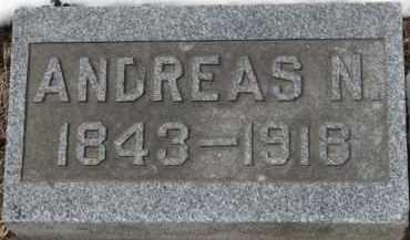 GRAN, ANDREAS N. - Dixon County, Nebraska | ANDREAS N. GRAN - Nebraska Gravestone Photos